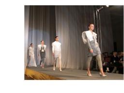 ロシア・サンクトペテルブルクのファッションコンテストにファッションデザインコース生が作品を出展。