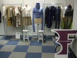 国際合同展示会「rooms24」にファッションデザインコース生が出展しました。