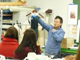 株式会社ゴールドウインテクニカルセンター開発部による特別講義が行われました。
