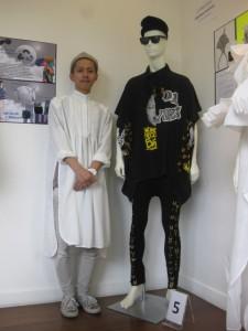 『持続可能なファッションデザインコンクール』で在学生が一位を獲得!