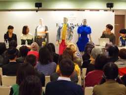 『ファッションワークショップ(西武渋谷店)』にファッションデザインコース生が参加
