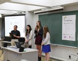 日米青少年交流事業「KAKEHASHI プロジェクト」で米国LIM Collegeと交流