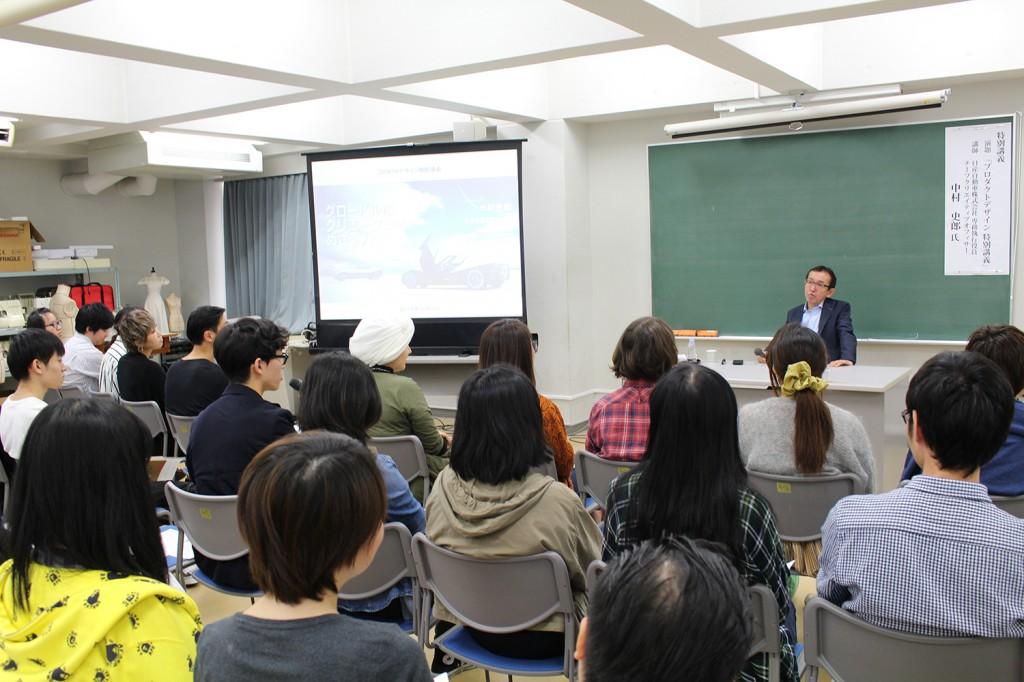 日産自動車株式会社 中村史郎氏による特別講義が行われました