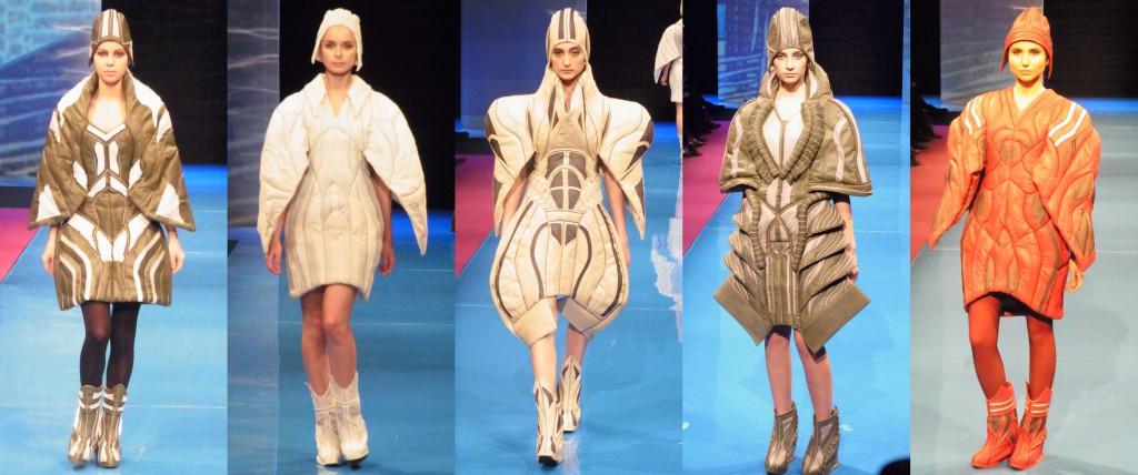 ロシア・サンクトペテルブルクのファッションコンテストにファッションデザインコース生2名が入賞!