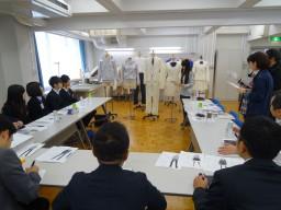 「BFGU学生服Project」の第3回ミーティング「サンプル検討会」が行われました