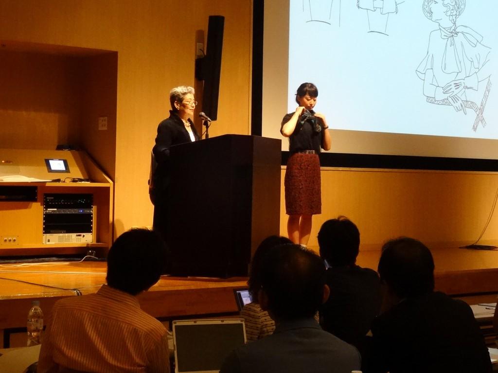 夏期特別講習会「デザインとパターンの研究 ―M・VIONNETから ITで開発するオートクチュールまで―」を開催しました