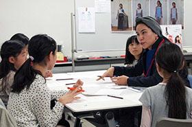 小学生向け職業体験イベント「道場やぶり おしごとチャレンジ~ファッション大作戦~」に参加しました