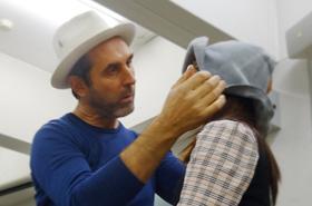 イタリア 帽子デザイナーのレナード・プランク氏による特別講義が行われました