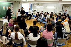 イギリス・サルフォードマンチェスター大学の<br >学生・教員が来訪しました