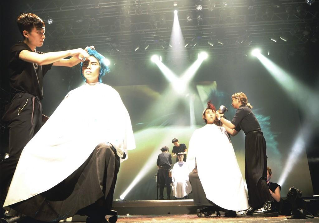 都内8 サロンが参加するヘアショー「JUNIOR TOKYO2017.」にて衣装協力
