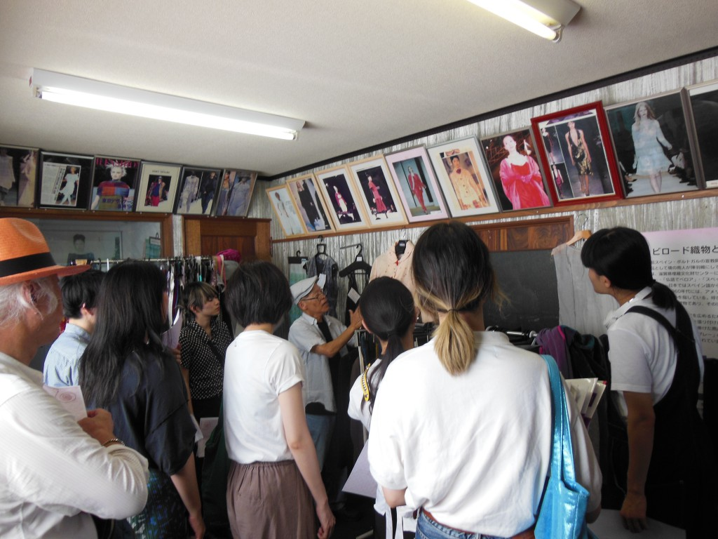 福井県織物産地とコラボレーションを実施