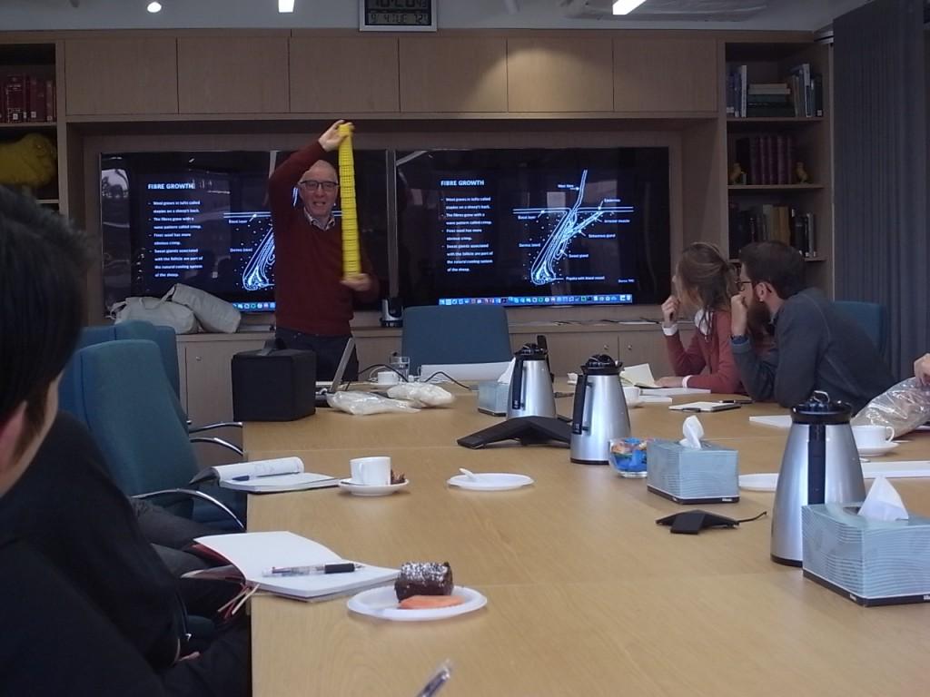 オーストラリアAWIでの講義風景