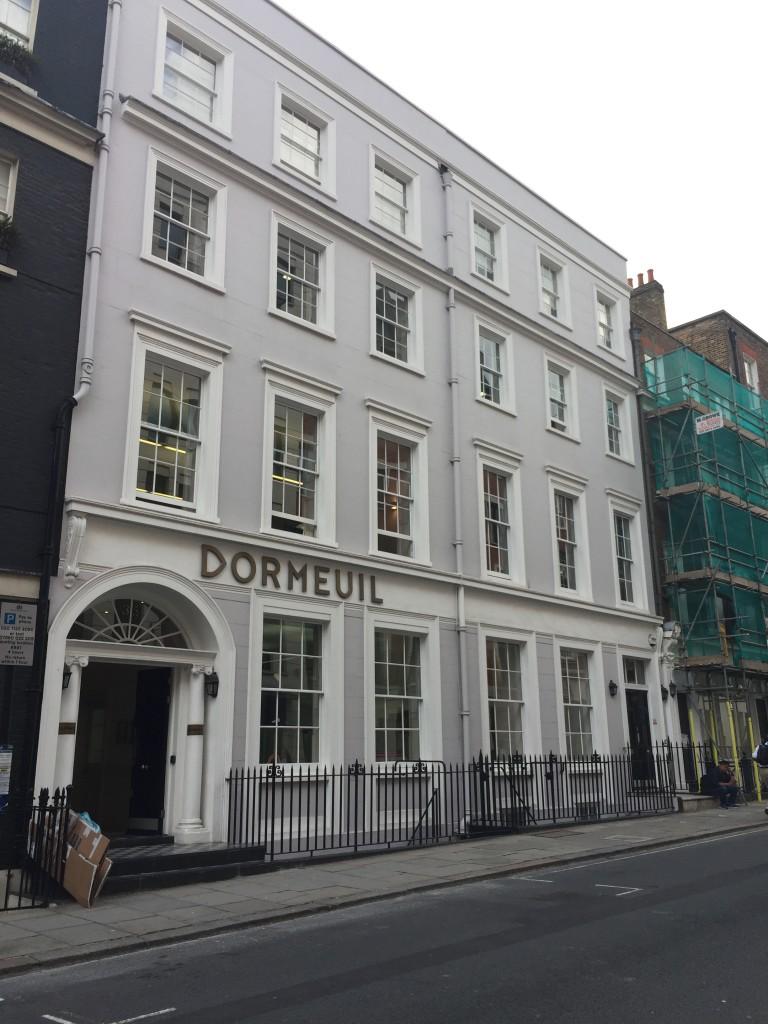 ドーメル社ロンドンオフィス