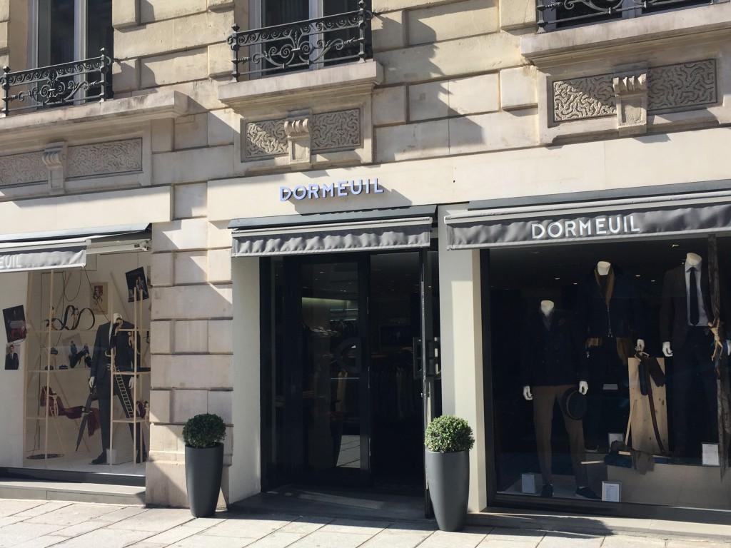 パリのドーメル社ショップ&ショールーム