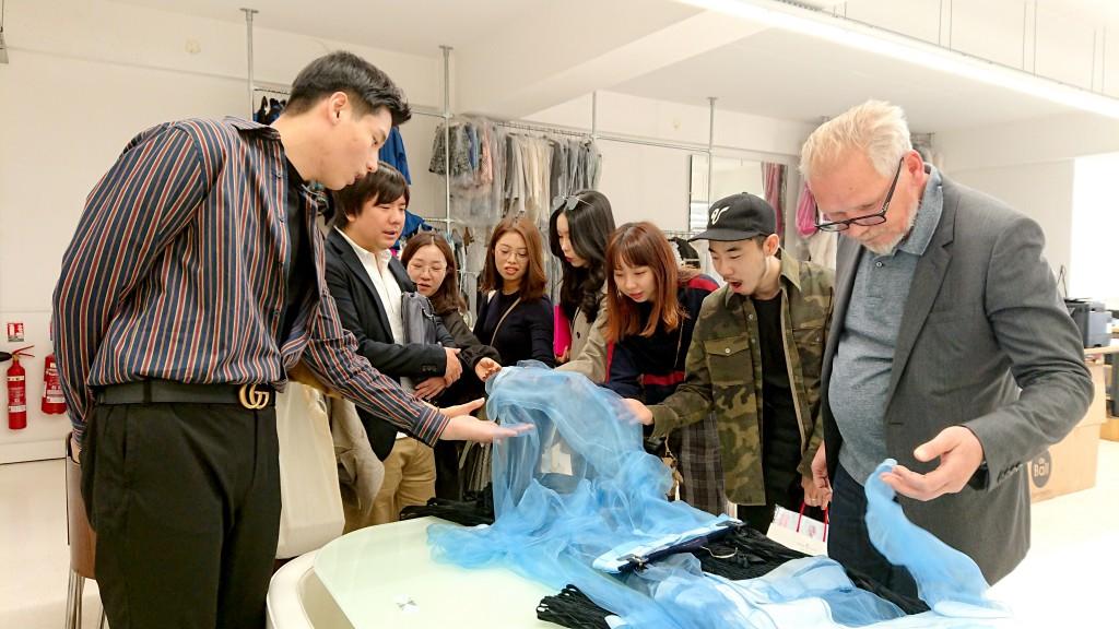 縫製工場見学