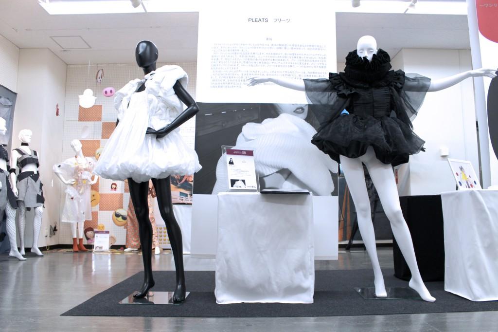 ファッションテクノロジーコース1年次終了展示