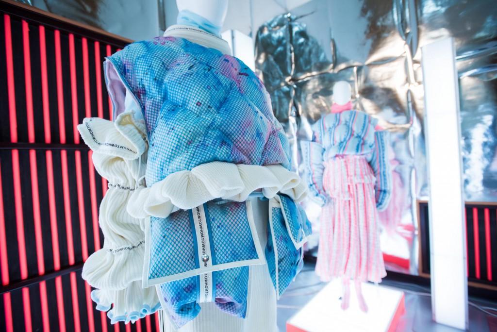 ファッションデザインコース1年次終了展示