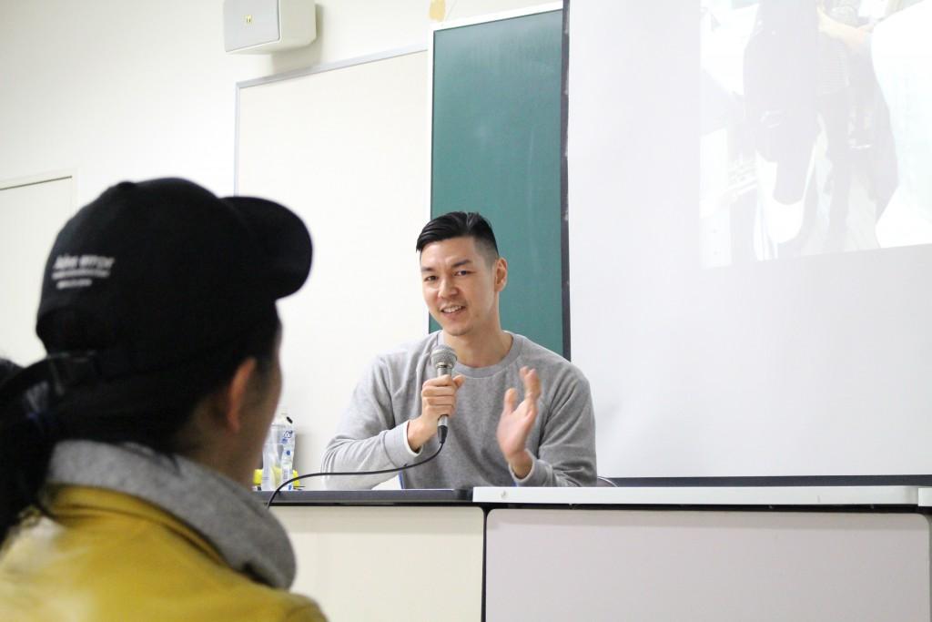学生会主催「3.1 Phillip Lim」パタンナー久保氏による講演会を開催