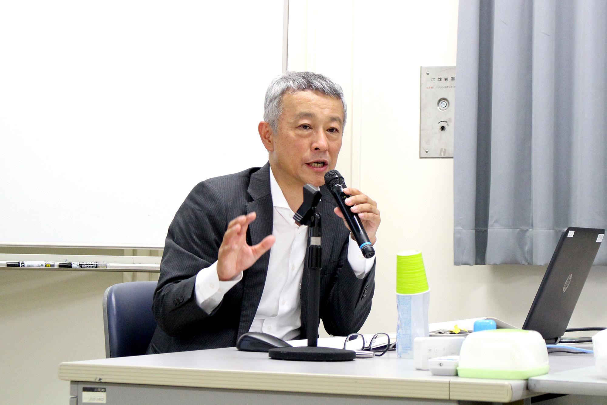 三井不動産株式会社 小野氏による特別講義を実施