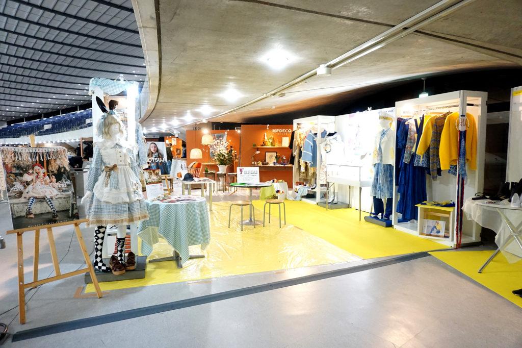 アッシュ・ペーフランス株式会社主催の合同展示会「rooms40」に作品を出品